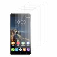 """Oukitel U16 Max 4G 6.0"""": Lot / Pack de 5x Films de protection d'écran clear transparent"""