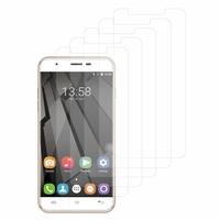 """OUKITEL U7 Plus 4G 5.5"""": Lot / Pack de 5x Films de protection d'écran clear transparent"""