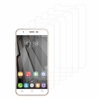 """OUKITEL U7 Plus 4G 5.5"""": Lot / Pack de 6x Films de protection d'écran clear transparent"""