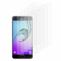 Samsung Galaxy A3 (2016) SM-A310F A310M A310Y (non compatible Galaxy A3 (2015)): Lot / Pack de 5x Films de protection d'écran clear transparent