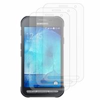 Samsung Galaxy Xcover 3 SM-G388F/ Xcover 3 (2016) Value Edition SM-G389F: Lot / Pack de 3x Films de protection d'écran clear transparent