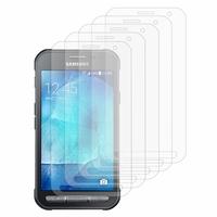 Samsung Galaxy Xcover 3 SM-G388F/ Xcover 3 (2016) Value Edition SM-G389F: Lot / Pack de 5x Films de protection d'écran clear transparent