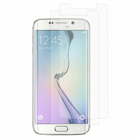 Samsung Galaxy S6 edge SM-G925/ S6 edge (CDMA)/ G925F/ G925T/ G9250/ G925A/ G925FQ/ G925L/ G925P/ G925R/ G925V/ G925W8 (non compatible Galaxy S6/ S6 edge+ Plus): Lot / Pack de 2x Films de protection d'écran clear transparent
