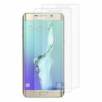 Samsung Galaxy S6 edge+ SM-G928F/ S6 edge PLUS/ edge+ Duos G928G G928T G928A G928I G928V G928P G928R (non compatible Galaxy S6/ S6 edge): Lot / Pack de 2x Films de protection d'écran clear transparent