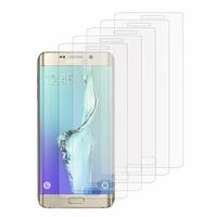 Samsung Galaxy S6 edge+ SM-G928F/ S6 edge PLUS/ edge+ Duos G928G G928T G928A G928I G928V G928P G928R (non compatible Galaxy S6/ S6 edge): Lot / Pack de 5x Films de protection d'écran clear transparent
