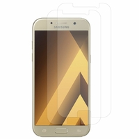 "Samsung Galaxy A5 (2017) 5.2"" A520F/ A5 (2017) Duos (non compatible Version 2014/ 2015/ 2016): Lot / Pack de 2x Films de protection d'écran clear transparent"