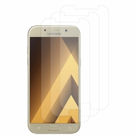 "Samsung Galaxy A5 (2017) 5.2"" A520F/ A5 (2017) Duos (non compatible Version 2014/ 2015/ 2016): Lot / Pack de 3x Films de protection d'écran clear transparent"