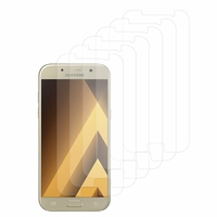 "Samsung Galaxy A5 (2017) 5.2"" A520F/ A5 (2017) Duos (non compatible Version 2014/ 2015/ 2016): Lot / Pack de 6x Films de protection d'écran clear transparent"