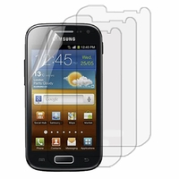 Samsung Galaxy Ace 2 i8160: Lot / Pack de 3x Films de protection d'écran clear transparent