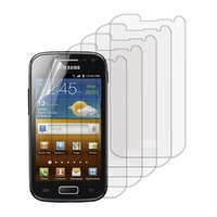 Samsung Galaxy Ace 2 i8160: Lot / Pack de 5x Films de protection d'écran clear transparent