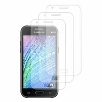 Samsung Galaxy J1/ J1 4G SM-J100F J100FN J100H/DD J100H/DS J100MU (non compatible Galaxy J1 (2016)): Lot / Pack de 3x Films de protection d'écran clear transparent