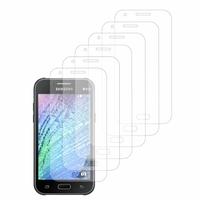 Samsung Galaxy J1/ J1 4G SM-J100F J100FN J100H/DD J100H/DS J100MU (non compatible Galaxy J1 (2016)): Lot / Pack de 6x Films de protection d'écran clear transparent