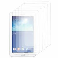 Samsung Galaxy Tab 3 Lite 7.0 T110/ Tab 3 Lite 7.0 VE Wi-Fi T113/ Tab 3 V T116NU/ Tab 3 Lite 7.0 3G T111: Lot / Pack de 5x Films de protection d'écran clear transparent