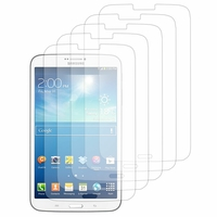 Samsung Galaxy Tab 3 8.0 SM-T311 T310 T315 Wi-Fi 3G LTE 4G: Lot / Pack de 5x Films de protection d'écran clear transparent