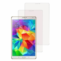 Samsung Galaxy Tab S 8.4 SM-T700/ LTE 4G SM-T705: Lot / Pack de 2x Films de protection d'écran clear transparent