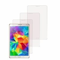 Samsung Galaxy Tab S 8.4 SM-T700/ LTE 4G SM-T705: Lot / Pack de 3x Films de protection d'écran clear transparent