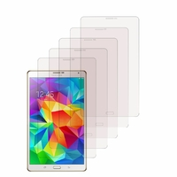 Samsung Galaxy Tab S 8.4 SM-T700/ LTE 4G SM-T705: Lot / Pack de 5x Films de protection d'écran clear transparent