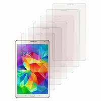 Samsung Galaxy Tab S 8.4 SM-T700/ LTE 4G SM-T705: Lot / Pack de 6x Films de protection d'écran clear transparent