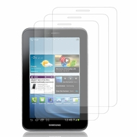 Samsung Galaxy Tab 2 7.0 P3100/ P3110: Lot / Pack de 3x Films de protection d'écran clear transparent