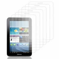 Samsung Galaxy Tab 2 7.0 P3100/ P3110: Lot / Pack de 6x Films de protection d'écran clear transparent