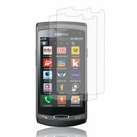Samsung Wave 2 S8530: Lot / Pack de 2x Films de protection d'écran clear transparent