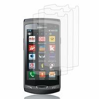 Samsung Wave 2 S8530: Lot / Pack de 3x Films de protection d'écran clear transparent