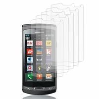 Samsung Wave 2 S8530: Lot / Pack de 5x Films de protection d'écran clear transparent