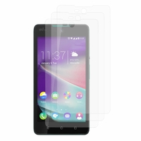 Wiko Rainbow Lite/ Lite 4G: Lot / Pack de 3x Films de protection d'écran clear transparent