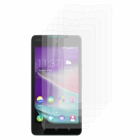 Wiko Rainbow Lite/ Lite 4G: Lot / Pack de 5x Films de protection d'écran clear transparent