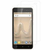 "Wiko Sunny2 Plus 5.0"" (non compatible Wiko Sunny 2 4.0""): Lot / Pack de 2x Films de protection d'écran clear transparent"