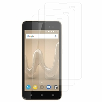"Wiko Sunny2 Plus 5.0"" (non compatible Wiko Sunny 2 4.0""): Lot / Pack de 3x Films de protection d'écran clear transparent"