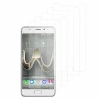 """Wiko U Feel Prime 5.0"""": Lot / Pack de 5x Films de protection d'écran clear transparent"""