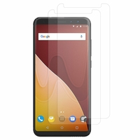"Wiko View Prime 4G 5.7"" (non compatible Wiko View/ View XL): Lot / Pack de 2x Films de protection d'écran clear transparent"