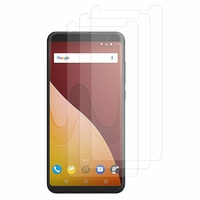 "Wiko View Prime 4G 5.7"" (non compatible Wiko View/ View XL): Lot / Pack de 3x Films de protection d'écran clear transparent"