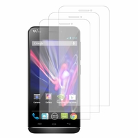 Wiko Wax/ Wax 4G: Lot / Pack de 3x Films de protection d'écran clear transparent