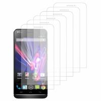 Wiko Wax/ Wax 4G: Lot / Pack de 6x Films de protection d'écran clear transparent