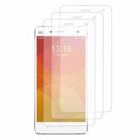 Xiaomi Mi 4/ Mi 4 LTE (non compatible Xiaomi Mi 4i/ Mi 4c): Lot / Pack de 3x Films de protection d'écran clear transparent