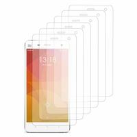 Xiaomi Mi 4/ Mi 4 LTE (non compatible Xiaomi Mi 4i/ Mi 4c): Lot / Pack de 6x Films de protection d'écran clear transparent