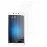 Xiaomi Mi 5: Lot / Pack de 5x Films de protection d'écran clear transparent