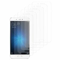 Xiaomi Mi 5: Lot / Pack de 6x Films de protection d'écran clear transparent