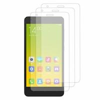 Xiaomi Redmi 2/ Redmi 2A/ Hongmi 2/ Redmi 2 Prime: Lot / Pack de 3x Films de protection d'écran clear transparent