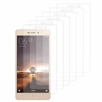 Xiaomi Redmi 3: Lot / Pack de 6x Films de protection d'écran clear transparent