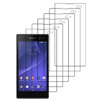 Sony Xperia C3 D2533/ Xperia C3 Dual D2502: Lot / Pack de 6x Films de protection d'écran clear transparent