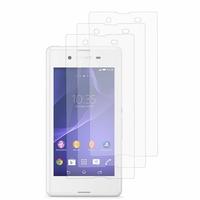 Sony Xperia E3/ E3 Dual D2212 D2203 D2243 D2206 D2202: Lot / Pack de 3x Films de protection d'écran clear transparent