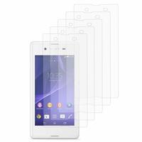 Sony Xperia E3/ E3 Dual D2212 D2203 D2243 D2206 D2202: Lot / Pack de 5x Films de protection d'écran clear transparent