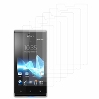 Sony Xperia J St26i/ ST26a: Lot / Pack de 6x Films de protection d'écran clear transparent