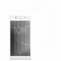 """Sony Xperia L1 5.5"""" G3311 G3312 G3313: Lot / Pack de 6x Films de protection d'écran clear transparent"""