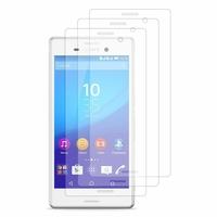 Sony Xperia M4 Aqua/ M4 Aqua Dual: Lot / Pack de 3x Films de protection d'écran clear transparent