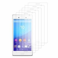 Sony Xperia M4 Aqua/ M4 Aqua Dual: Lot / Pack de 5x Films de protection d'écran clear transparent