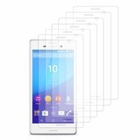 Sony Xperia M4 Aqua/ M4 Aqua Dual: Lot / Pack de 6x Films de protection d'écran clear transparent